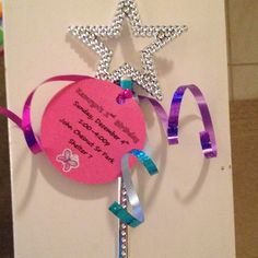 Birthday Invitation themed for Abby Cadabby fairy in training from Sesame Street.