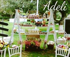 Mesa en jardin