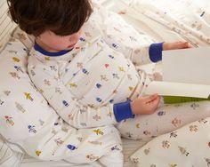 Kids Pajamas Cobalt