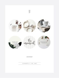 Circle photographs and minimal background Blog | Irene Victoria | Toronto Freelance Graphic Designer