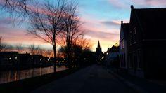 Sunset in 's-Gravendeel