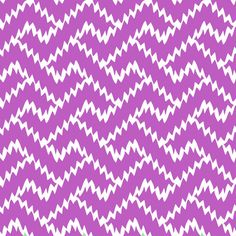 Zig Zag Berry - Fabric by the Yard #chevron #purple Gail Wright at Home