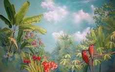jungle painting