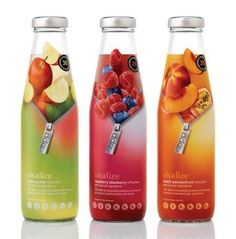 """-PACKAGING:bottle made out of glass;screw top system makes it easy to open and therefore ready to drink.SHAPE:reminds the classical milk bottle made out of glass - COMMUNICATION:the vivid colors are eye-catching and appealing.Special design of the label is a complete contrast to other ordinary fruit energy drinks.I`d also buy this product to try the alleged freshness of the drink.Reasons:""""Eye catcher effect"""", originality and real design of the product.Appealed from the  intended freshness"""