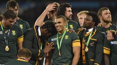 #RWC2015 South Africa take bronze medal against Argentina - World Cup 2015 - Rugby - Eurosport British