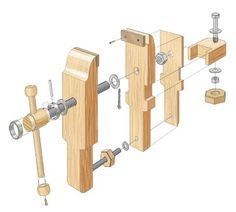 Bench Vise | Woodsmith Plans …