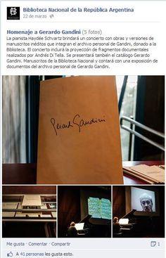 Facebook y bibliotecas: Biblioteca Nacional Argentina