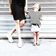 Ohhh just look at this lovely girl rocking our Stone Skirt & Breton Tunic! Thanks so much for sharing @leiasfez   #mommy #daughter #love #fashion #kids #clothes #stripes #breton #stone #skirt