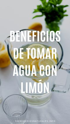 Beneficios de tomar Agua con Limón - theremediosnaturales.info Salud Natural, Shot Glass, Tableware, Lime Drinks, Losing Weight Fast, Dinnerware, Tablewares, Dishes, Place Settings