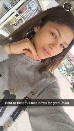 Zendaya on snapchat 6/11/15