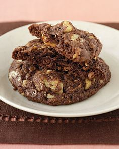 Double Chocolate Coconut Cookies - Martha Stewart Recipes