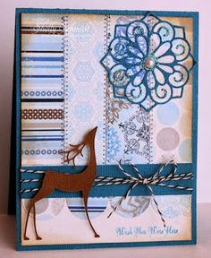SweetStamps challenge 1/14/14 Winter Blues: DT Shelly