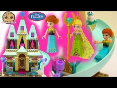 Disney Frozen Fever Arendelle Castle Celebration - Princess Anna Queen Birthday Party Elsa Snowgies - YouTube