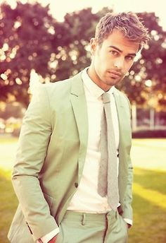 Theo James. Four