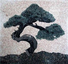 Magnificent Bonsai Tree Mosaic Marble Hand Made