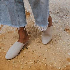 Our gorgeous Paris Mule is a sophisticated but extremely comfortable style that is hand made from the highest quality suede. With a slightly pointed toe and raised heel, the Parisis perfect forany occasion through the cooler seasons.