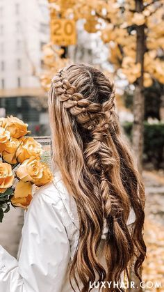 Super Hair Extensions Before And After Luxy Ideas Short Hair Styles Easy, Short Hair Updo, Braids For Long Hair, Curly Hair Styles, Teenage Hairstyles, Trendy Hairstyles, Braided Hairstyles, Braided Locs, Hairstyles 2018