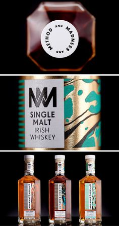 METHOD AND MADENSS Whiskey by design studio M&E