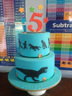 T-Rex vs Scooby Doo and Gang silhouette