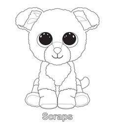Ty beanie boo coloring pages download and print for free | Boos ...