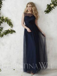 Christina Wu Bridesmaid Dresses - Style 22683