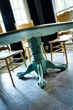 92 Best Kitchen Table Redo Images Painted Furniture
