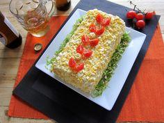 Una pincelada en la cocina: Pastel de verano con pan de molde, facilito