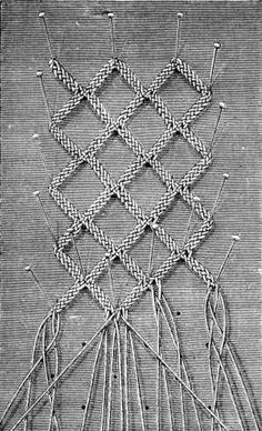 Laces of Different Kinds - Chapter XIV - Encyclopedia of Needlework, Lace, Lace stitches, passings, Lace Patterns Needle Tatting, Needle Lace, Bobbin Lacemaking, Bobbin Lace Patterns, Macrame Knots, Wire Weaving, Lace Making, Antique Lace, Embroidery Techniques