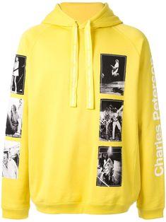 Takahiromiyashita The Soloist Photo print hoodie - Yellow The Soloist, Yellow Hoodie, Boys T Shirts, Hoodies, Sweatshirts, Shop Now, Street Wear, Women Wear, Mens Fashion