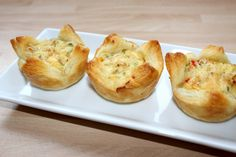 Quiche Muffins, Salty Snacks, Food Art, Baked Potato, Bacon, Food And Drink, Appetizers, Pizza, Yummy Food