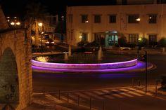 Night walk at Heraklio