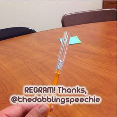 Thanks @thedabblingspeechie for permission to regram!  Have you seen these chewy tubes before? Much more appropriate for middle school for those kids that need sensory input. #ashiagers #dabblingslp #slpeeps #schoolslp   - - click on pin for more!    - Like our instagram posts?  Please follow us there at instagram.com/pediastaff