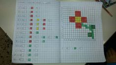 School Border, Graph Paper Art, Computer Science, Problem Solving, Pixel Art, Art For Kids, Coding, Teaching, Mamma