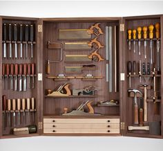 Benchmark Tool Cabinet.