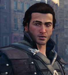 F/O is Jacob Frye (Assassin's Creed Syndicate). All Assassin's Creed, Assassian Creed, Assassins Creed Jacob, Edwards Kenway, Fantasy Heroes, Dear Future Husband, Perfect Man, Cosplay Costumes, Cool Photos