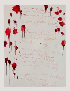 Cy Twombly  Coronation of Sesostris (Part VI), 2000