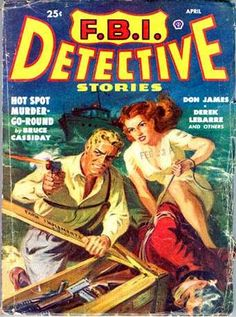 Crime Pulp Covers