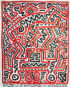 Keith Haring - Ephemera 1979-90 7