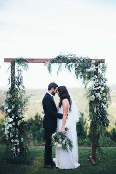 These two <3 // Naomi & Jason's Summergrove Estate Wedding // Image by @alcornimages