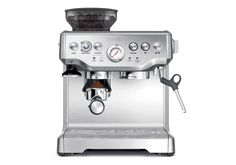 The Barista Express Programmable Espresso Through this beautiful machine, we can provide the presentable coffee. This beautiful espresso machine can be bought at Everyday Espresso. Be wiser, shop now. we specialize Espresso machine. Breville Espresso Machine, Best Home Espresso Machine, Machine A Cafe Expresso, Espresso Machine Reviews, Automatic Espresso Machine, Espresso Coffee Machine, Best Espresso, Espresso Maker, Coffee Maker