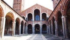 Базилика Сант-Амброджио в Милане. 1099