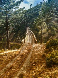 Railway bridge, Verraco, Corsica, France *