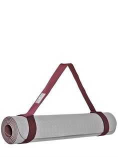RUBBER YOGA MAT WITH CARRYING STRAP