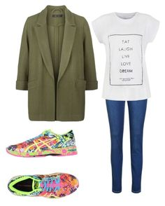 """""""A day in NY"""" by krisbarbie812 on Polyvore featuring moda, Ally Fashion, New Look y Asics"""