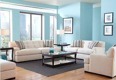 Shop for a Cindy Crawford Home  Avery Place Hemp  7 Pc Living Room at Rooms To Go. Find Living Room Sets that will look great in your home and complement the rest of your furniture.