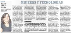 000. Mujeres y tecnologías por Marta G. Terán