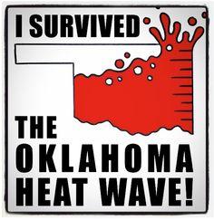 #Oklahoma 2011- 100 days over 100 degrees