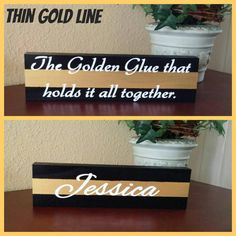 Check out this item in my Etsy shop https://www.etsy.com/listing/241702248/thin-gold-line-name-plate-dispatcher