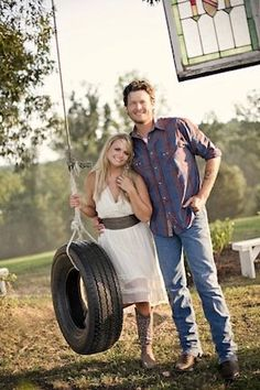 Blake Shelton w/ wife Miranda Lambert