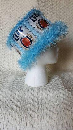 51401dbe76a Miller Lite Handmade Crochet Beer Can Hat
